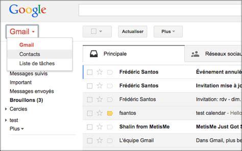 comment prendre contact avec gmail