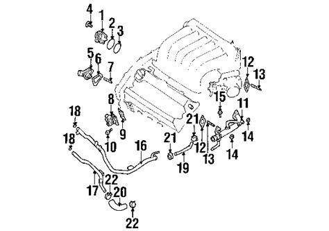 parts 174 nissan maxima cooling system oem parts