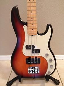 Fender 1998 American Deluxe Precision Bass U00ae Body W   1996