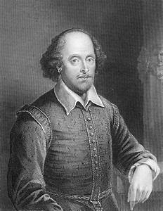 Portrait Of William Shakespeare Drawing by English School