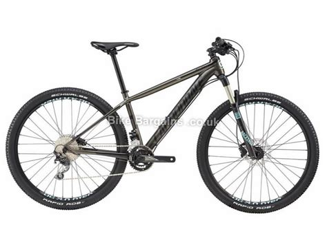 cannondale f si alloy 3 2017 mountain large frame in cannondale f si 2 deore 27 5 quot alloy hardtail mtb