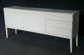 enfilade blanche design allemand vintage