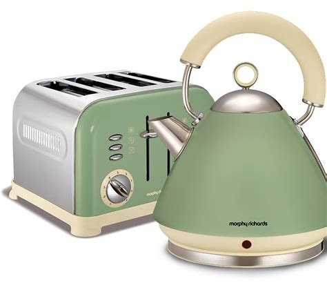 morphy richards kitchen accessories morphy richards accents kettle and toaster set 7854