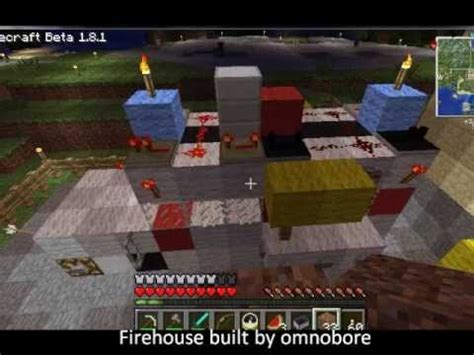 minecraft ghostbusters firehouse  car abbreviated youtube