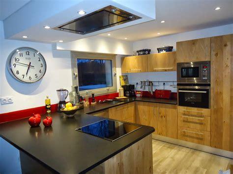 les decoration de cuisine michel le coz agencement décoration cuisine moderne bois