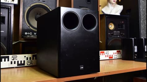 canton sub 300 canton combi 300 sub bass reflex passive subwoofer no lifier inside audio hifi