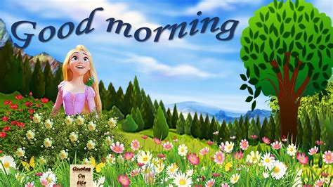 Morning Animation Wallpaper - animated morning images for whatsapp morning