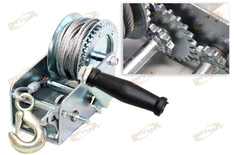 Boat Winch Gears by Jacks Hoists Winches