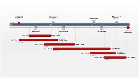 editable powerpoint office schedule template wide screen