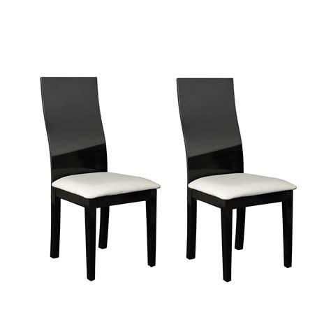chaise pour salle à manger chaise de salle a manger noir idées de décoration
