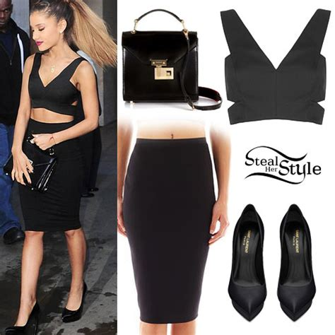 Ariana Grandeu0026#39;s Clothes u0026 Outfits | Steal Her Style | Page 8