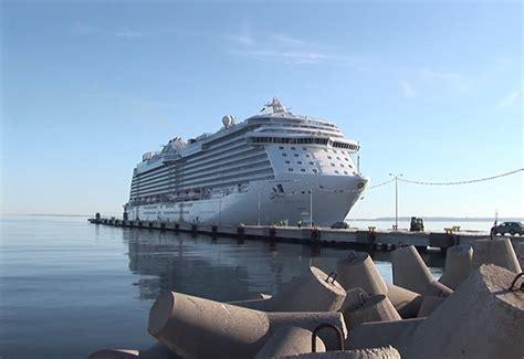 Jaunās kruīza kuģu piestātnes būvniecība vecajā Tallinas ostā