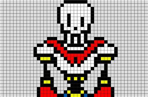 Papyrus Undertale Pixel Art From Brikbook.com #papyrus