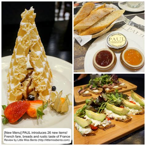 cuisine paul paul restaurant presents 26 menu items miss