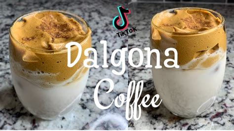 Whipped coffee is the latest tiktok trend to go totally viral, so stay tuned for a breakdown of the popular drink and a tutorial on how to make it. HOW TO MAKE THE VIRAL TIK TOK WHIPPED COFFEE: DALGONA COFFEE RECIPE 2020 II Cynthia Rivas ...