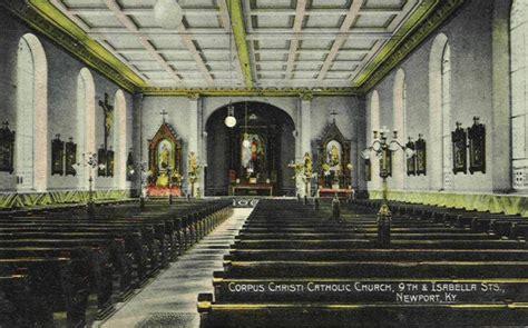 Interior of Corpus Christi Catholic Church, Newport, Kentucky
