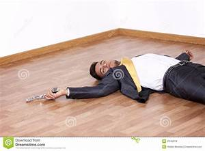 Dead Businessman In The Floor Royalty Free Stock Photos ...