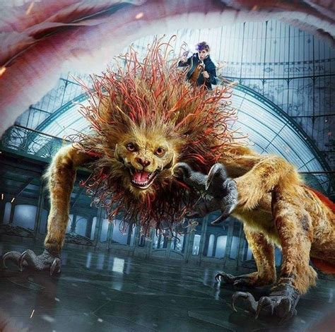 fell  love   lion creature harry potter