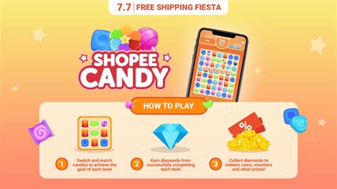 Shopee Candy: Swipe, Match and Win a Brand New Laptop and ...