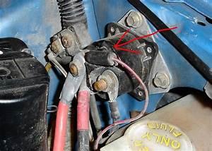 93 Mustang Starter Relay  Solenoid Wiring