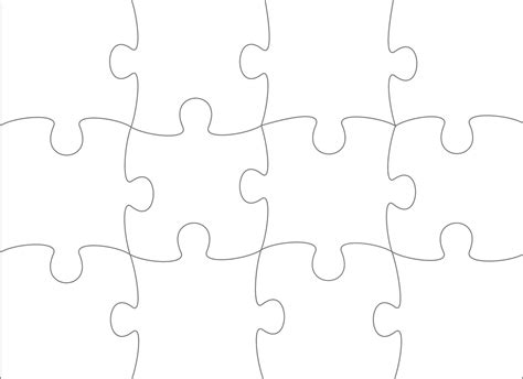 material fuer digitales bilder basteln vorlagen puzzle