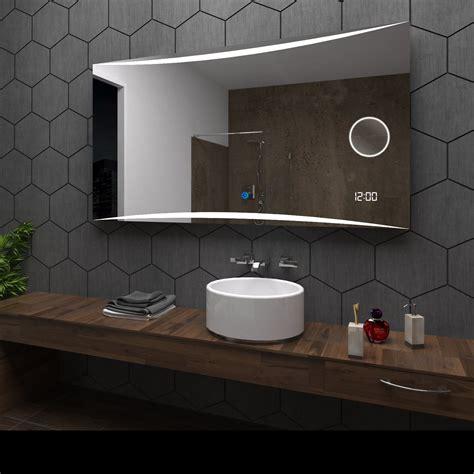 Custom Size Bathroom Mirror by Wilno Illuminated Led Bathroom Mirror Custom Size Make