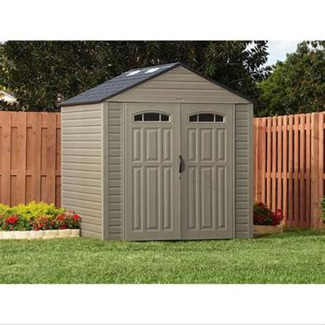 walmart sheds rubbermaid rubbermaid roughneck xl 7 x7 325 cu ft outdoor storage