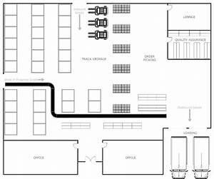 warehouse plan With warehouse floor plan template