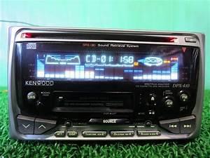 Kenwood Dpx-410 2din Cd  U0026 Cassette Receiver