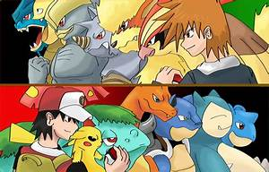 digimon vs pokemon photo