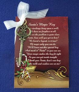 santas magic key north pole letters keepsakes With letter from santa with magic key