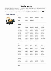 For Hyundai Robex Construction Equipment And Engine Service Manuals And Wiring Diagrams 2019