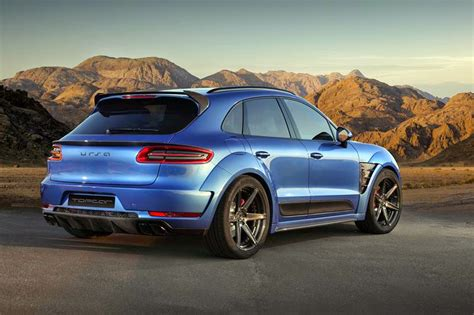 Porsche Macan Modification the look of macan that modified in russia