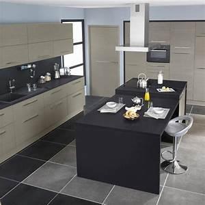 Meuble Cuisine Lapeyre : cuisine lapeyre platine gris lapeyre pinterest cuisine ~ Farleysfitness.com Idées de Décoration