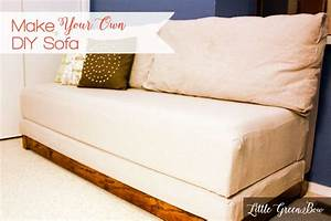 make your own diy couch with help from little green bow With how to make a sofa bed