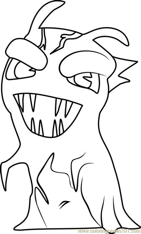 darkfurnace coloring page  slugterra coloring pages coloringpagescom