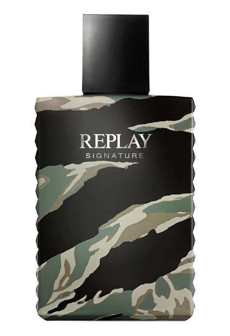 Replay Signature For Men Replay cologne - a new fragrance ...