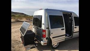 Ford Transit Connect Camper Conversion Extra Storage