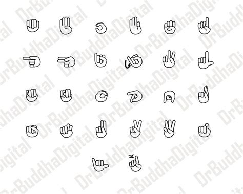 Freesvg.org offers free vector images in svg format with creative commons 0 license (public domain). American Sign Language SVG Collection - Sign Language DXF ...