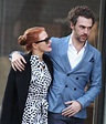 JESSICA CHASTAIN and Gian Luca Passi De Preposulo Out and ...