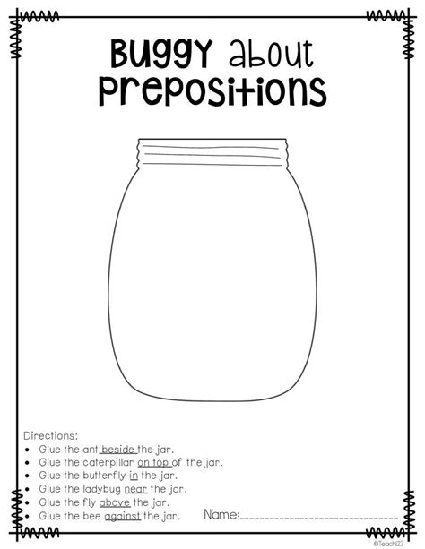 preschool prepositions best 25 preposition activities ideas on 900