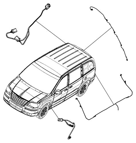 2010 Chrysler Town And Country Wiring Diagram Chassi by Chrysler Town Country Wiring Kit Trailer Tow Trailer