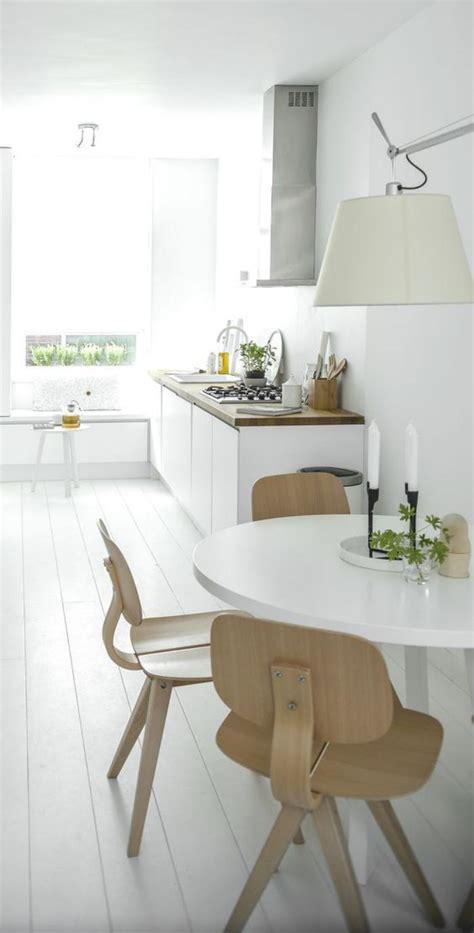 une cuisine la cuisine blanche et bois en 102 photos inspirantes