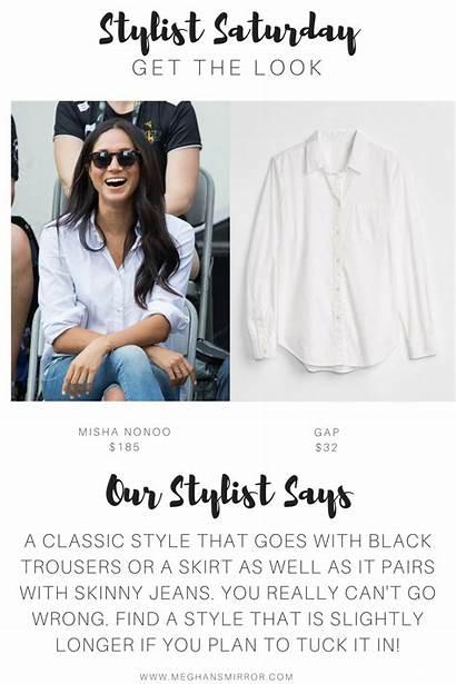 Meghan Shirt Markle Husband Boyfriend Stylist Classic