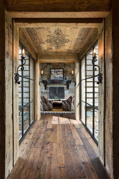 Home Hallway Design Ideas by 15 Great Rustic Hallway Designs That Will Inspire You With