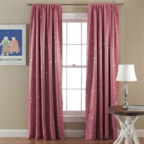 special edition by lush decor star blackout curtain panels