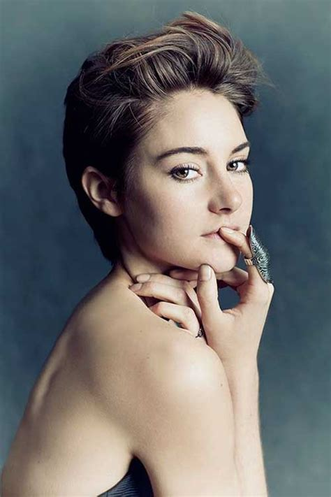 Shailene Woodley Short Hair Pics   Short Hairstyles 2016