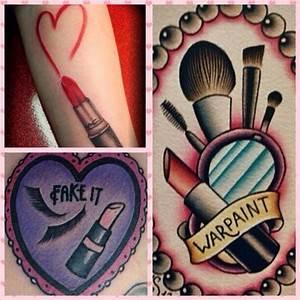 Makeup artist mua tattoo inspiration.   Tattoo   Pinterest