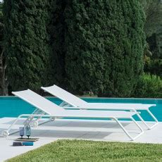 chaises longues de jardin design mobilier jardin