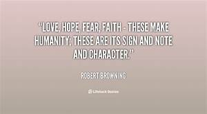 Faith Hope And ... Hope Over Fear Quotes